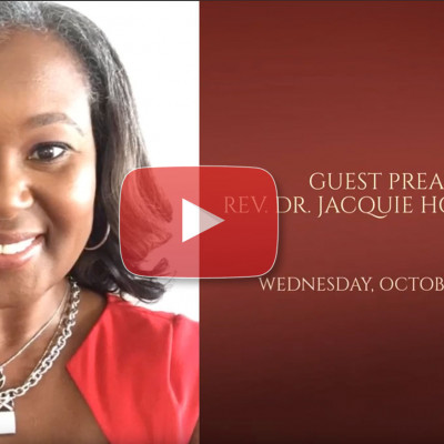 Fall Revival Rev. Dr. Jacquie Hood-Martin - Wednesday 10/9 at 7pm EST