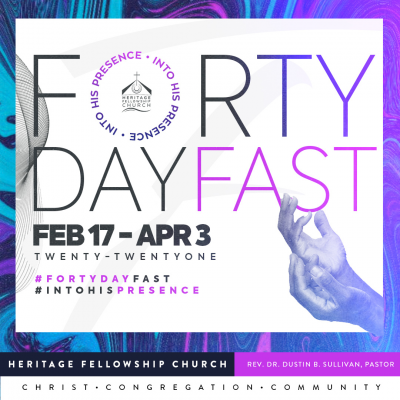 Forty Day Fast - Into His Presence