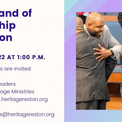 Right Hand of Fellowship Reception | Heritage Fellowship Church