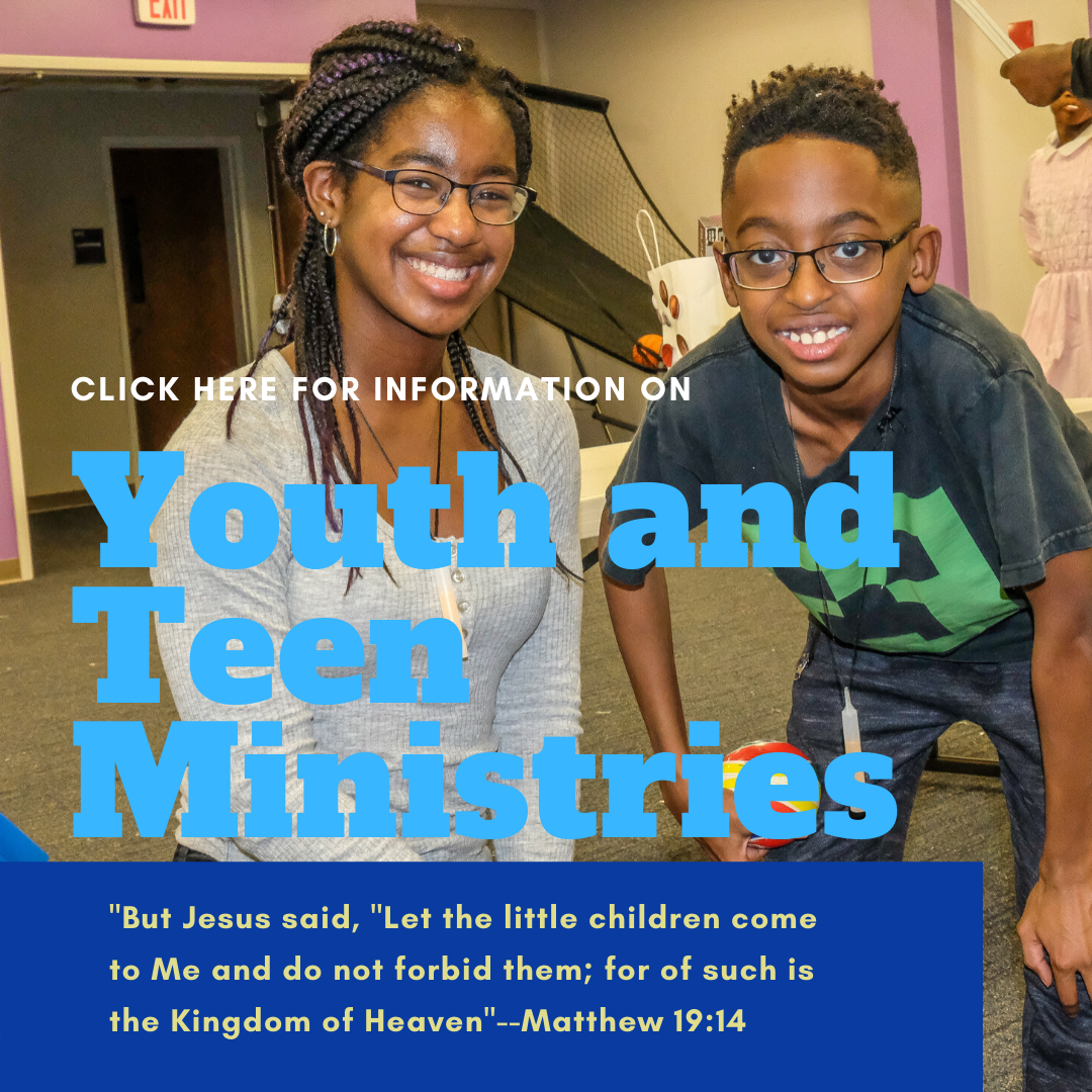 Youth and Teen Ministries