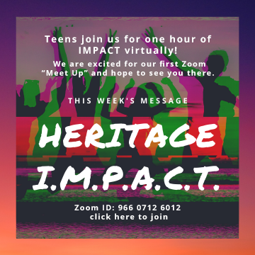 Heritage IMPACT teen church services