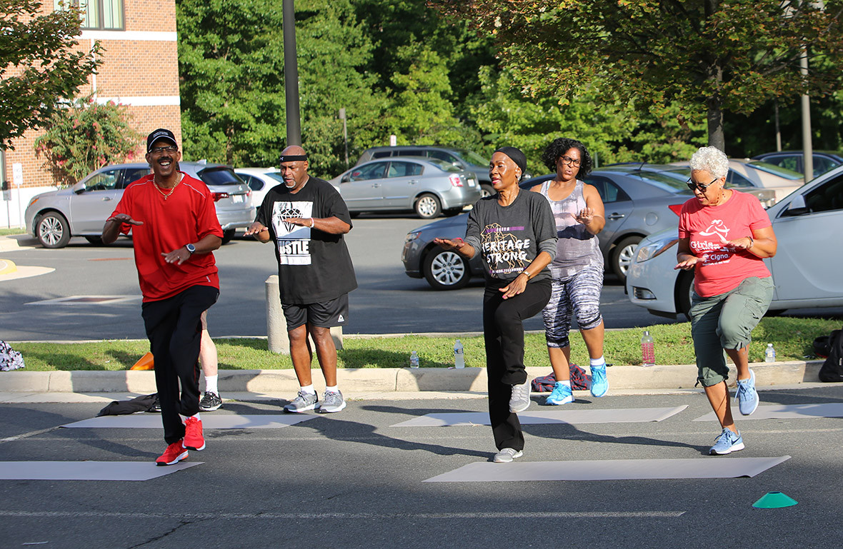 Fitness Ministry Workout Day