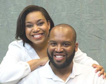 Reverend Dustin B. Sullivan and wife Kiasha J. Sullivan