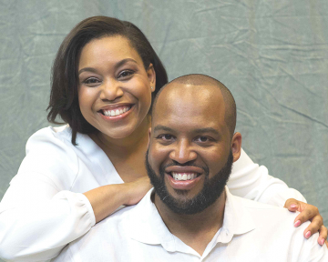 Reverend Dustin B. Sullivan and wife Kiasha J. Sullivan